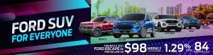 ford suv for everyone slide